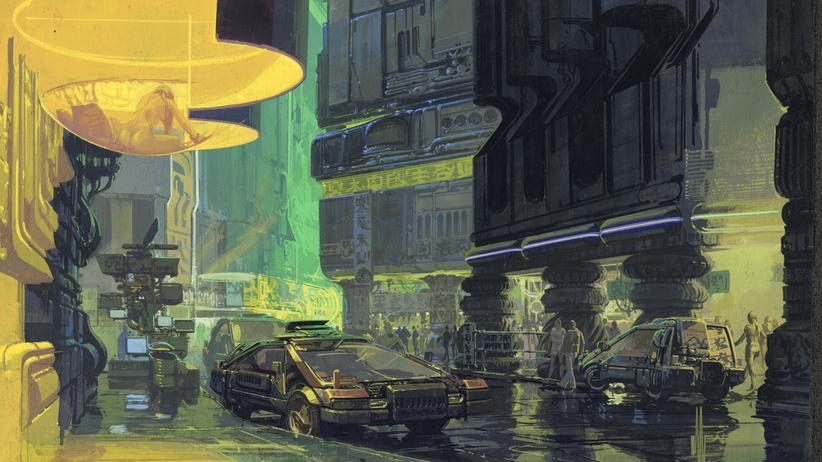 Syd Mead: Die Schönheit urbaner Alpträume