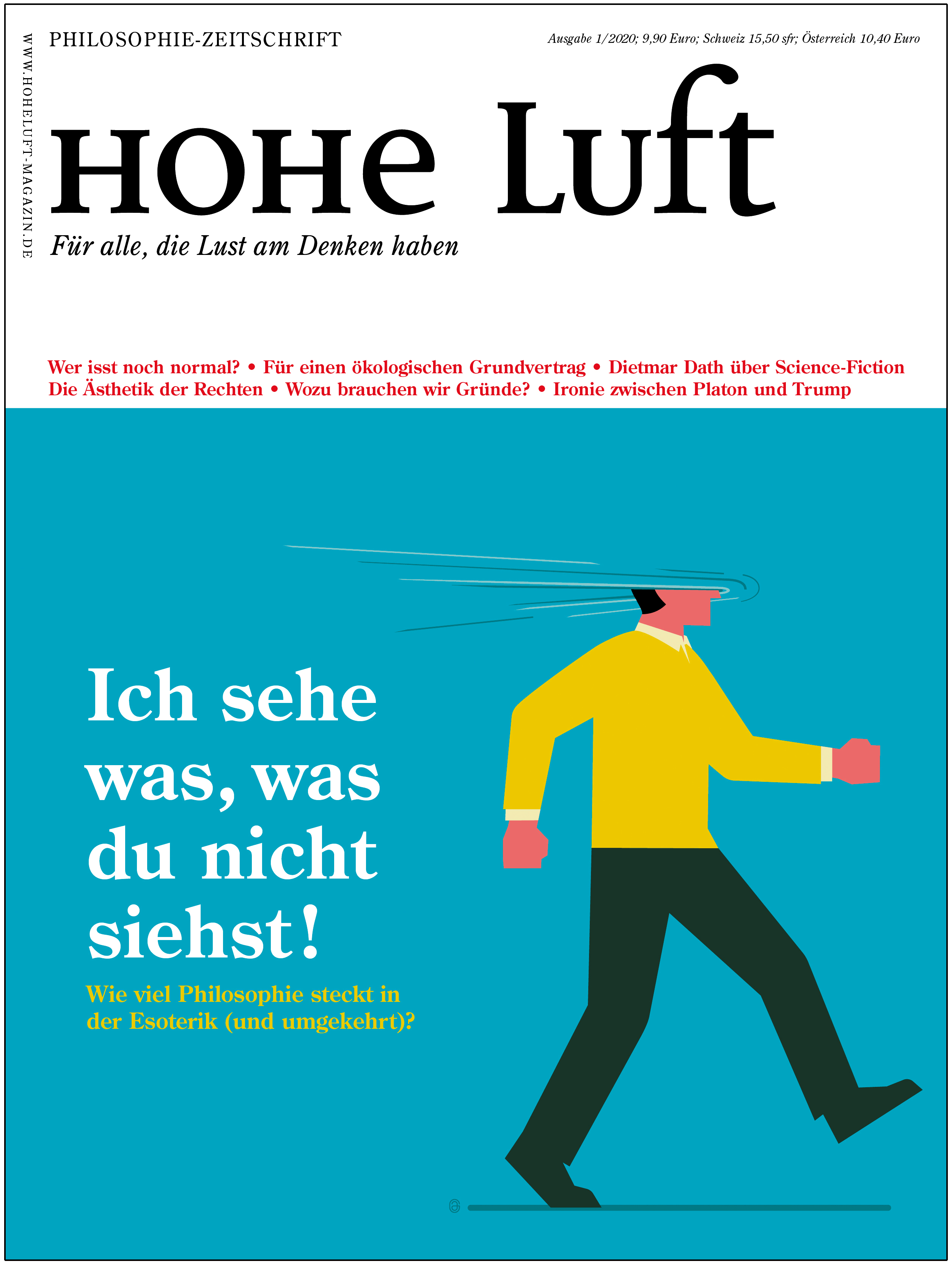 """Esoterik: Dieser Artikel ist erschienen in """"Hohe Luft"""" 01/2020"""