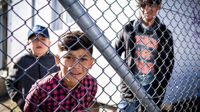 Griechenland: In Sektion B in Moria wohnen Kinder, die niemanden mehr an ihrer Seite haben.