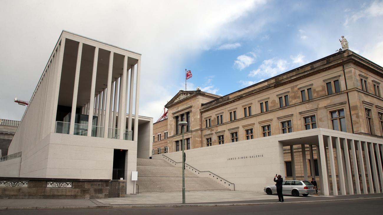 Kunstvandalismus Anschlag Auf Kunstwerke Und Antiken Auf Der Berliner Museumsinsel Zeit Online