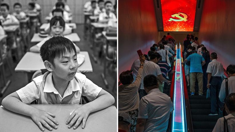 Chinesisches Bildungssystem: Auf dem Rücken der Kinder