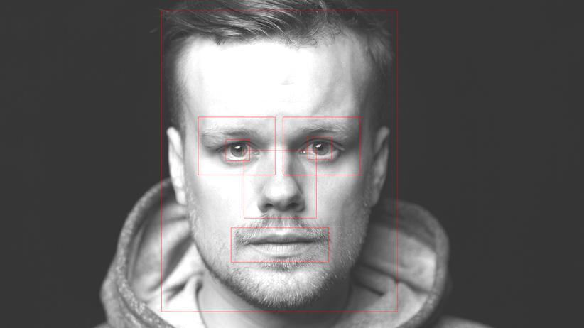 Gesichtserkennung: Den Barcode im Gesicht