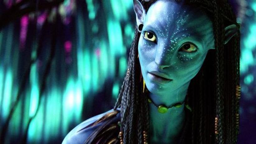 """Film: """"Avatar"""": Blaue Haut, gelbe Augen, drei Meter hoch: James Camerons ästhetische Vision von extraterrestrischem Leben"""