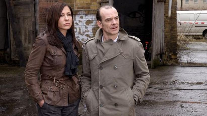 Tatort Fernsehen: Nur noch Kollegen: Eva Saalfeld (Simone Thomalla) und Andreas Keppler (Martin Wuttke)