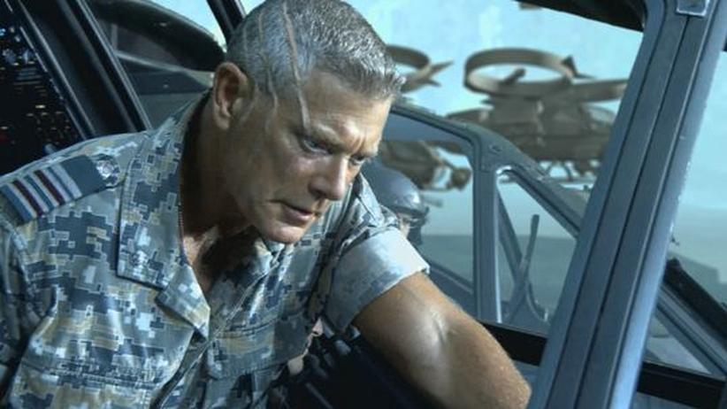 "Kultureller Imperialismus in ""Avatar"": Verkörpert das Böse im Film ""Avatar"": Colonel Quaritch (Stephen Lang)"
