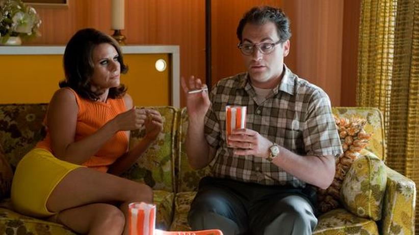 """""""A Serious Man"""": Doppelte Verführung: Amy Landecker (Mrs. Samsky) und Michael Stuhlberg (Larry Gopnik) in """"A Serious Man"""""""