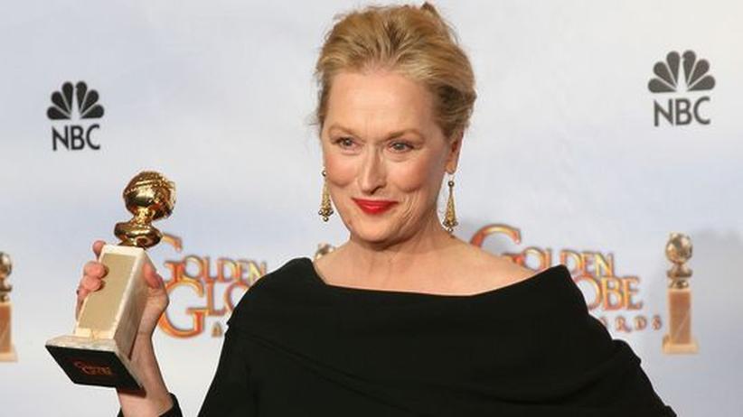 """Meryl Streep: """"Ich bin ziemlich mürrisch, fragen Sie mal meinen Mann"""""""