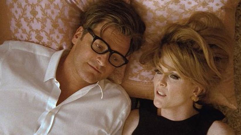 """Film """"A Single Man"""": In klassischer Konstellation: Der schwule Ästhet (Colin Firth) und seine beste Freundin (Julianne Moore)"""