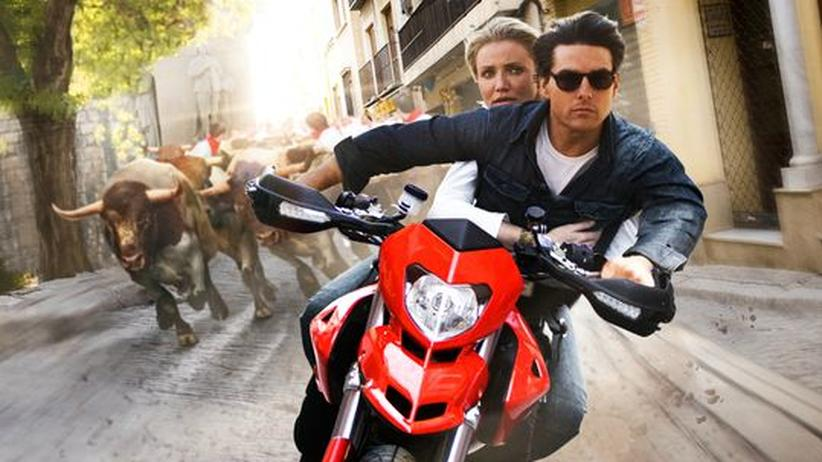 "Diaz und Cruise in ""Knight and Day"""