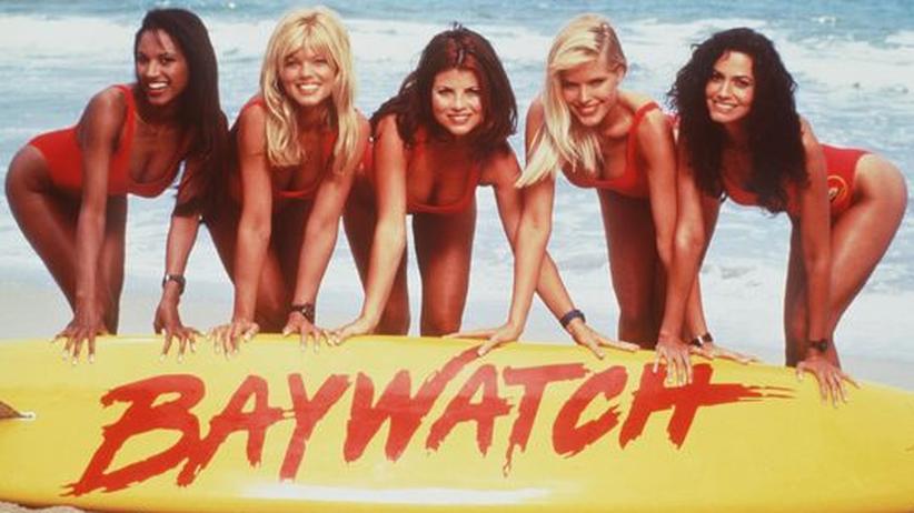 Baywatch, Strand, Fernsehen