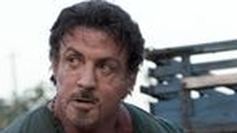 "Film ""The Expendables"": Bye, bye Sylvester!"