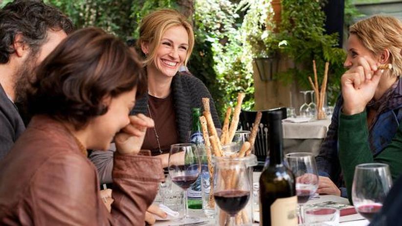Elizabeth Gilbert (Julia Roberts) sucht sich selbst – unter anderem in Italien