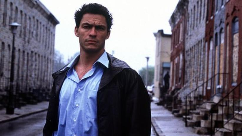 "DVD ""The Wire"": Jimmy McNulty (Dominic West) in Baltimore"