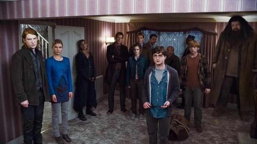 Harry Potter: Alle aufstellen zum Gruppenfoto: die Harry-Potter-Familie posiert für Teil 7