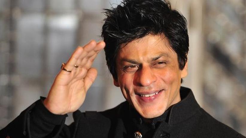 Film: In Berlin hat sich Shah Rukh Khan im November ins Gästebuch des Roten Rathauses eingetragen