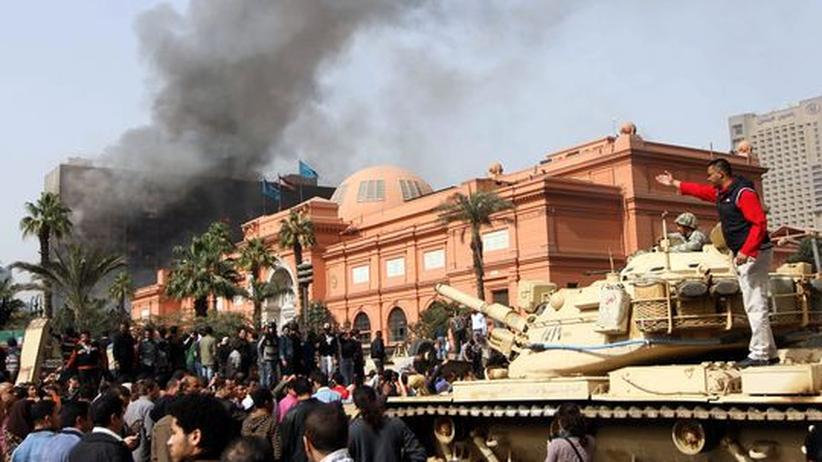Ägyptisches Museum Kairo Kultuschätze Kunstraub