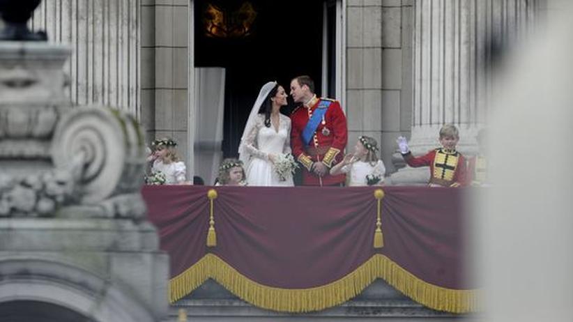 Königliche Hochzeit: Prinz William und seine Gattin Catherine Middleton sind nun Herzog und Herzogin von Cambridge.