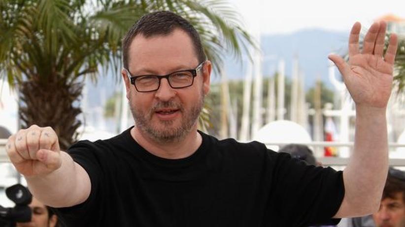 Lars von Trier: Der dänische Regisseur bei einem Auftritt vor der Presse in Cannes