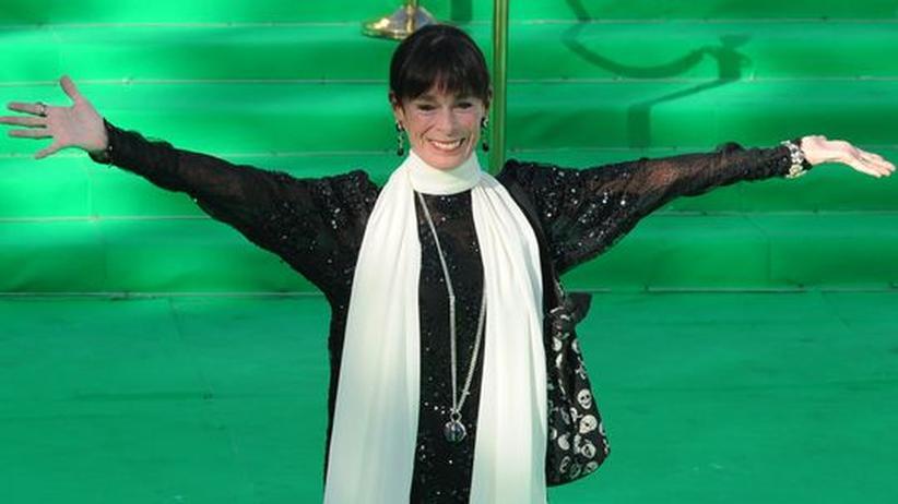 Geraldine Chaplin: Geraldine Chaplin bei der Eröffnung des Filmfestivals in Moskau im Juni 2011.