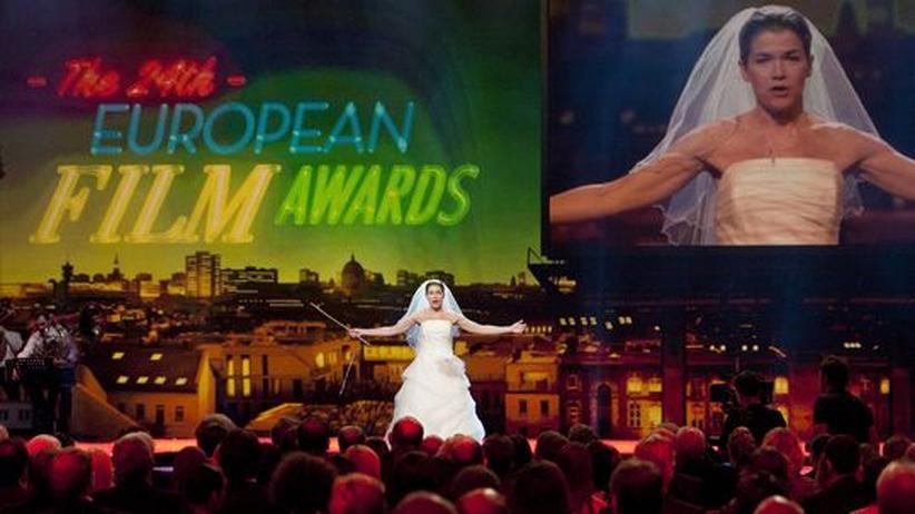 """Preisverleihung: """"Melancholia"""" als bester europäischer Film ausgezeichnet"""