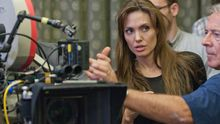 Angelina Jolie beim Dreh