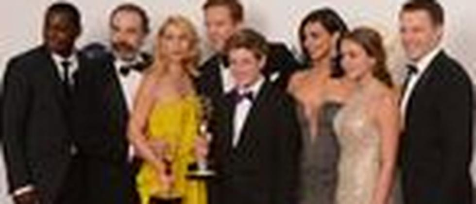 """Die Schauspieler der US-Serie """"Homeland"""" bei der Emmy-Verleihung in Los Angeles"""