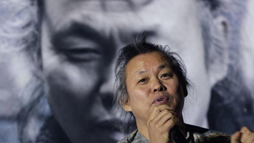 Filmfestival Südkorea: Der Regisseur Kim Ki-duk auf einer Diskussionsrunde im Rahmen des 17. Internationalen Filmfestivals in Busan (BIFF)