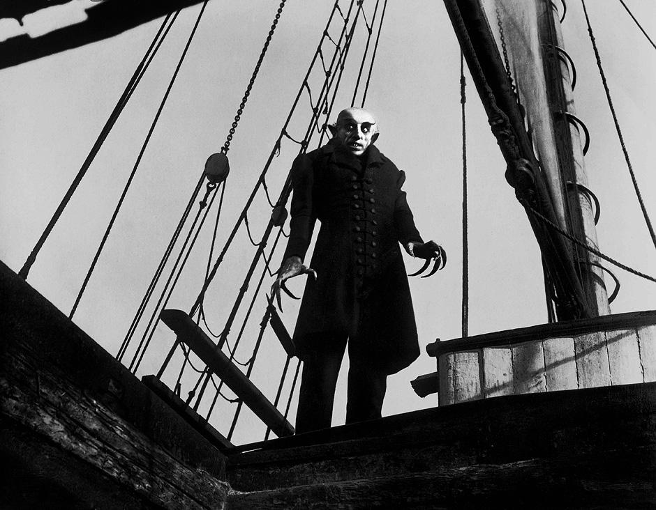 """Max Schreck als """"Nosferatu"""", Regie: F. W. Murnau, 1922"""