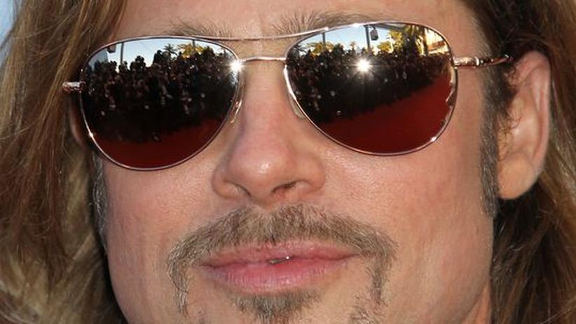 Gesellschaftskritik: US-Schauspieler Brad Pitt auf dem Filmfestival in Cannes