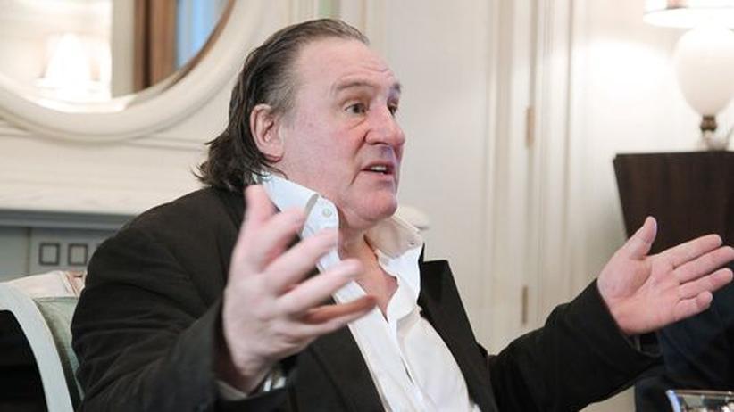 Gérard Depardieu: Frankreichs Wirtschaft ist schlecht fürs Kino