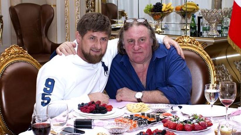 Russland-Freundschaft: Depardieu will Film über Tschetschenien drehen