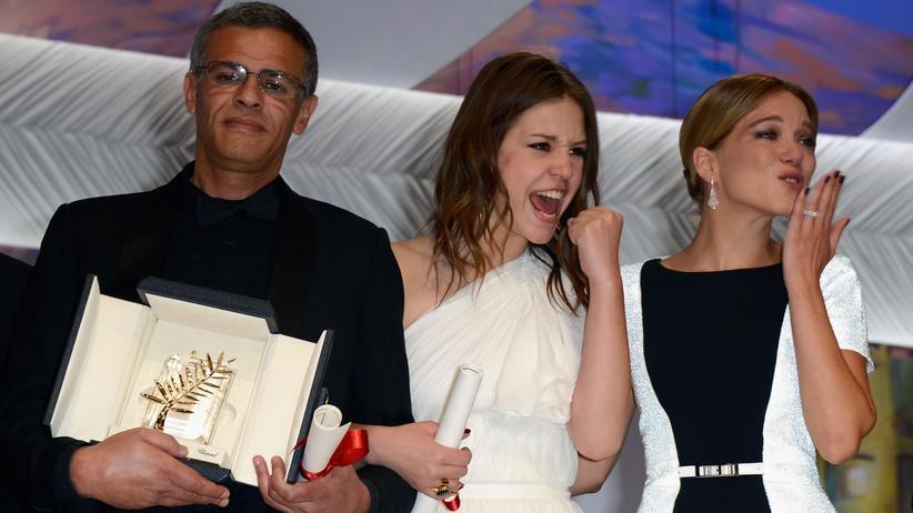 """Filmfestspiele in Cannes: """"La vie d'Adèle"""" gewinnt Goldene Palme"""