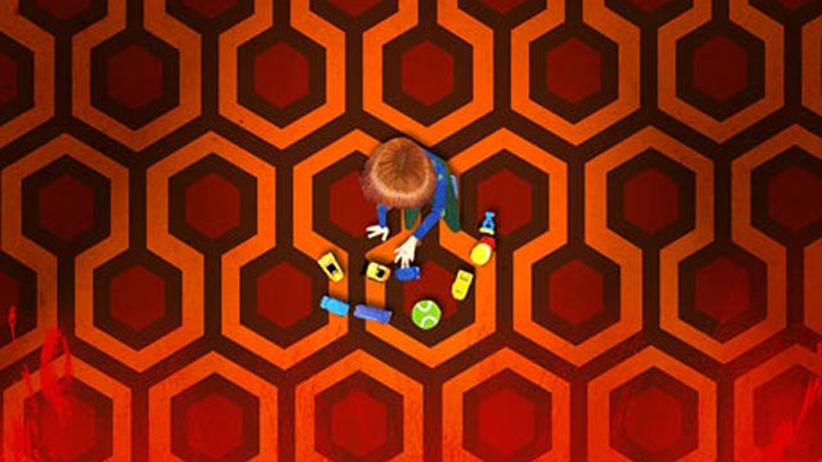 """""""Shining""""-Doku: Wollte Stanley Kubrick uns mit der Wahl des Teppichmusters für seinen Film """"Shining"""" etwas sagen? Und wenn ja: Was?"""