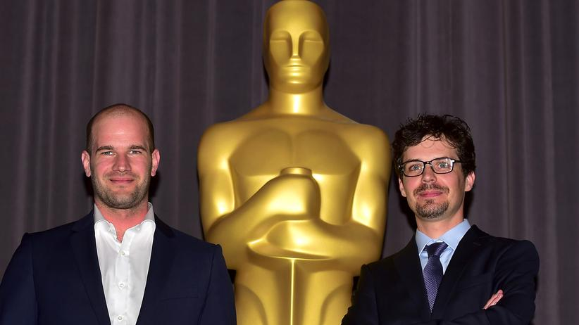 Studenten-Oscar: Die Gewinner des 41. Studenten-Oscars Lennart Ruff (l.) and Peter Baumann in Los Angeles