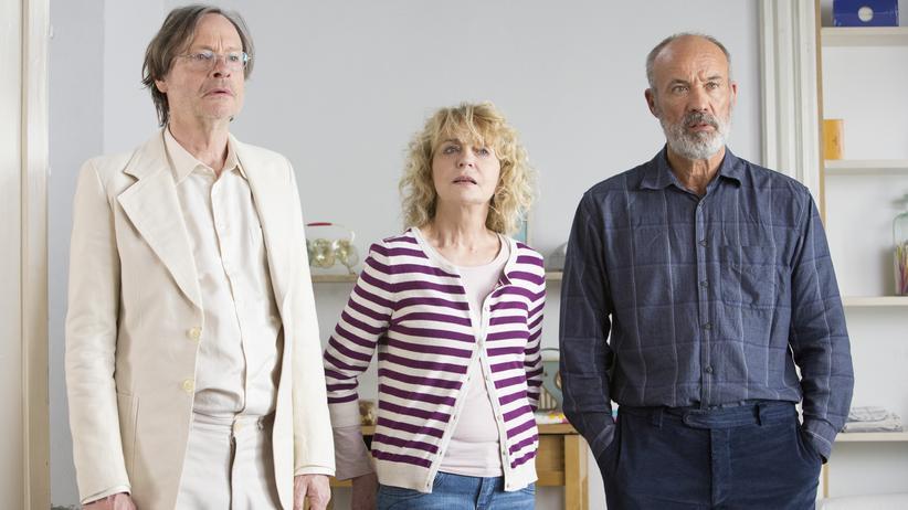 """""""Wir sind die Neuen"""": Johannes (Michael Wittenborn), Anne (Gisela Schneeberger) und Eddie (Heiner Lauterbach) lassen ihre alte Wohngemeinschaft wieder aufleben."""