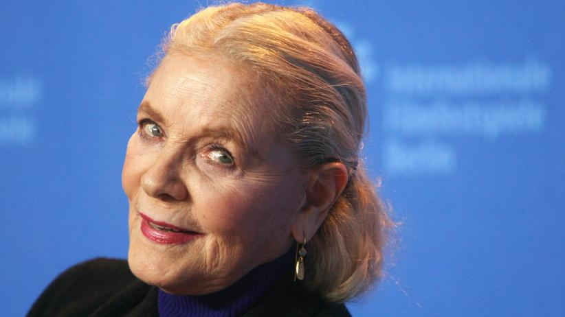 Hollywood-Legende: US-Schauspielerin Lauren Bacall