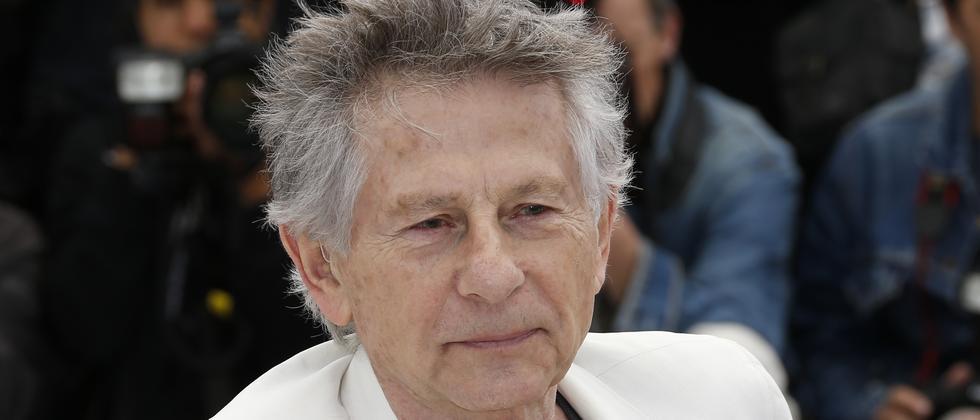 """Roman Polanski während eines Pressetermins in Cannes (2013), wo er seinen Film """"Venus im Pelz"""" präsentierte"""