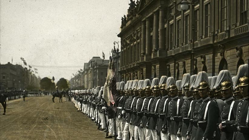 """Filmstill aus """"Im Krieg – der 1. Weltkrieg in 3D"""""""