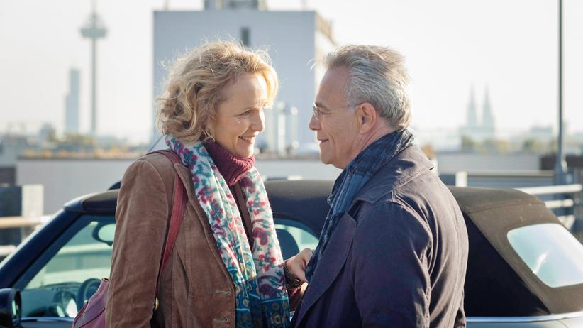 """""""Tatort"""" Köln: Techtelmechtel oder Liebe? Kommissar Max Ballauf (Klaus J. Behrendt, rechts) und die Kriminalpsychologin Lydia Rosenberg (Juliane Köhler)"""