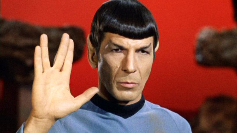 "Mr. Spock: Leonard Nimoy als Mr. Spock in der ""Star-Trek""-Episode ""Amok Time"" von 1967."