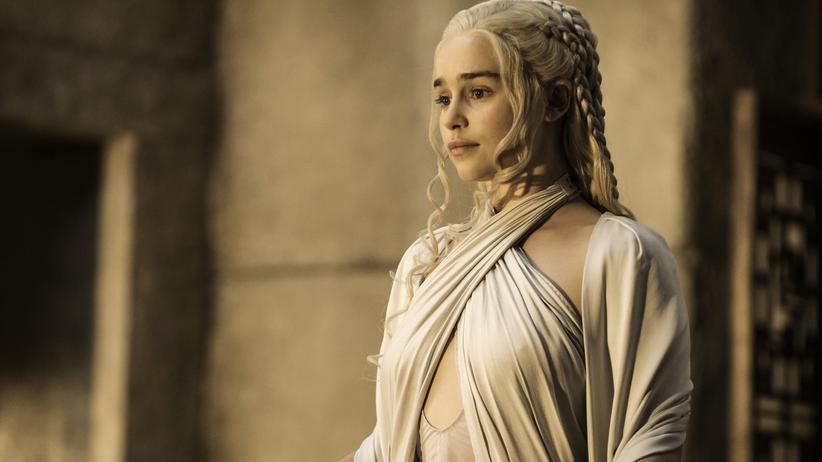 """Emilia Clarke als Daenerys Targaryen in der fünften Staffel von """"Game of Thrones"""""""