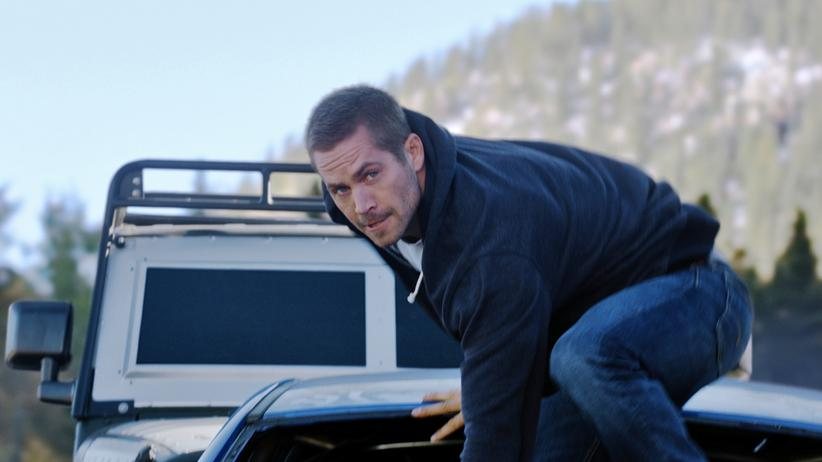 "Paul Walker in ""Fast And Furious 7"""