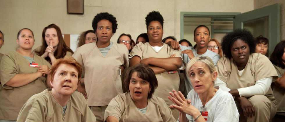 "Das Ensemble von ""Orange is the new Black"""