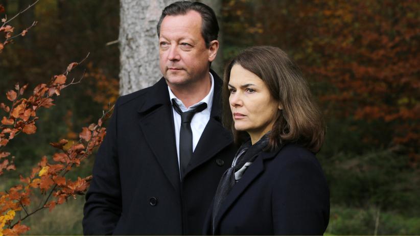 Matthias Brandt und Barbara Auer im ersten Polizeiruf von Christian Petzold