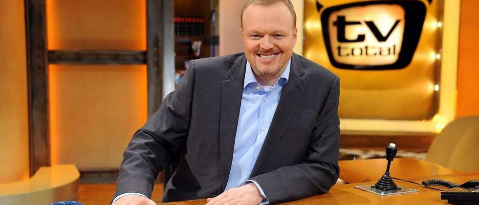 "Stefan Raab als Moderator der Late Night Show ""TV Total"""
