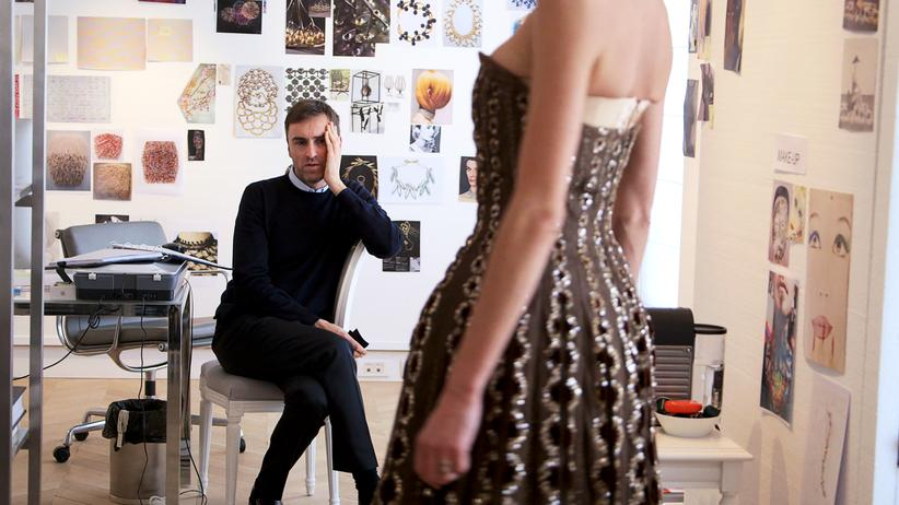 Der Modeschöpfer Raf Simons