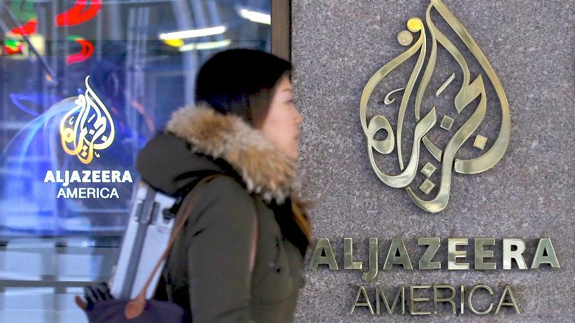Al Jazeera America: Die Pforte der Redaktion von Al Jazeera America