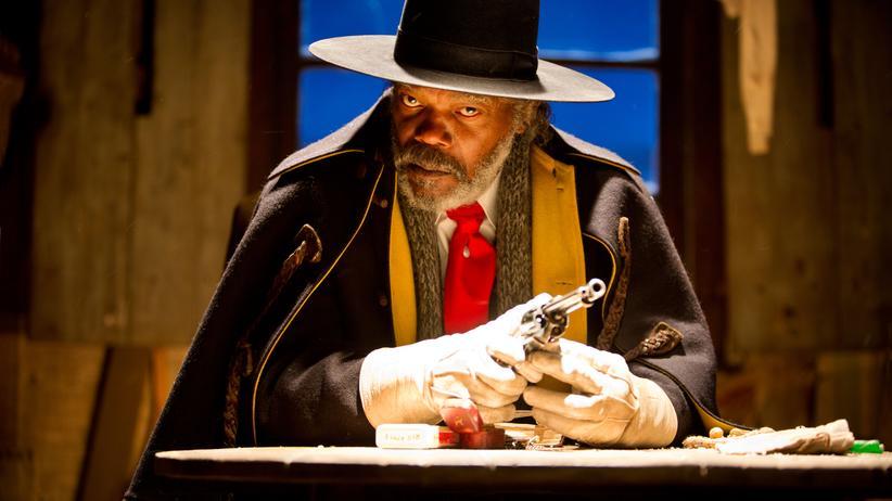 """""""The Hateful Eight"""": Samuel L. Jackson als Major Marquis Warren in """"The Hateful Eight"""""""