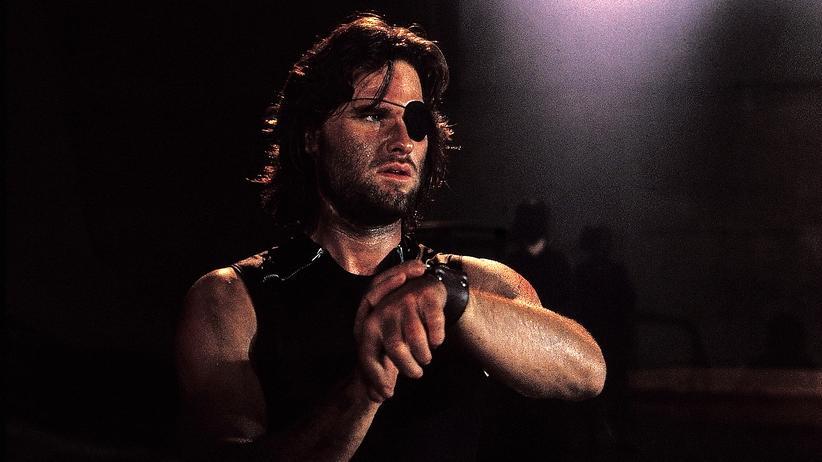 """Kurt Russell 1981 als Snake Plissken in John Carpenters """"Die Klapperschlange"""""""