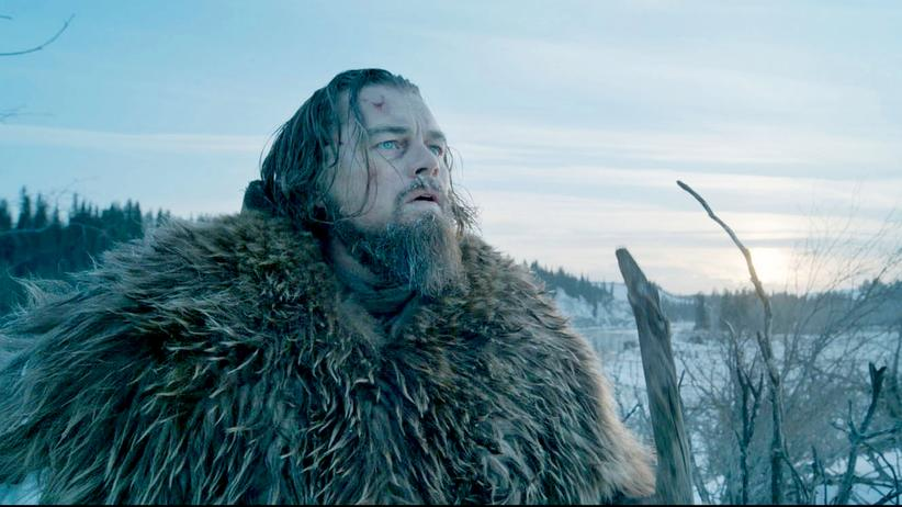 """The Revenant"": in Bär von einem Mann: Leonardo DiCaprio als Hugh Glass in ""The Revenant"""